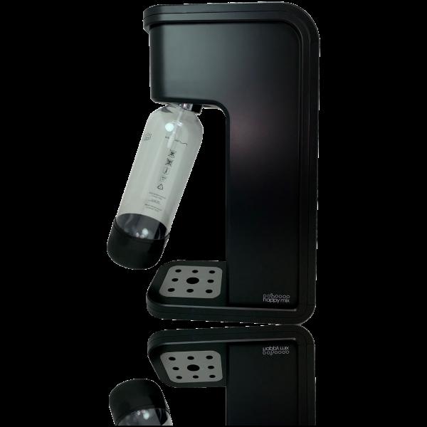Wassersprudler Happy Mix Future optimiert und freigestellt und gespiegelt